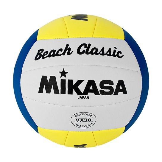 054604ba2 Bola Volei Praia Mikasa Vx20 2201 - Branco+Amarelo