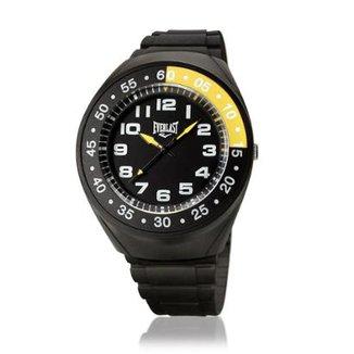e29782c4714 Relógio Pulso Everlast Com Pulseira Pu E3001 Masculino