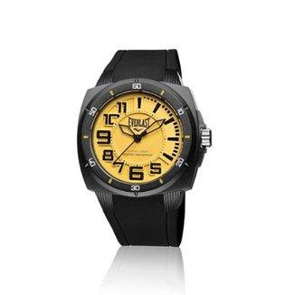715e29d34a6 Relógio Pulso Everlast Bold E677 Caixa Abs Pulseira Silicone