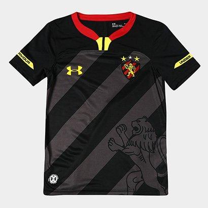 Camisa Sport Recife Infantil III 19/20 s/n° - Torcedor Under Armour
