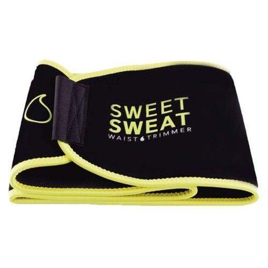 ed23c5f24ba382 Cinta Abdominal Sweet Sweat - Preto e Amarelo