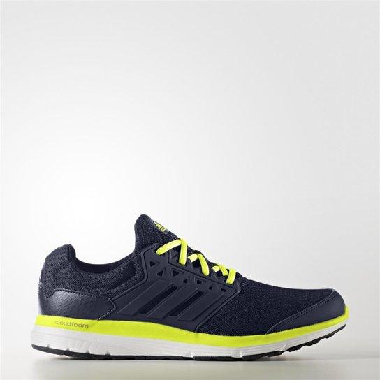 b16d04304f Tênis Adidas Galaxy 3.1 - Preto e Amarelo - Compre Agora