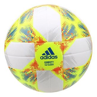 5b9ad3b0ad4de Bola de Futebol Campo Adidas Treino Conext19 Top Treining Match Ball  Replique