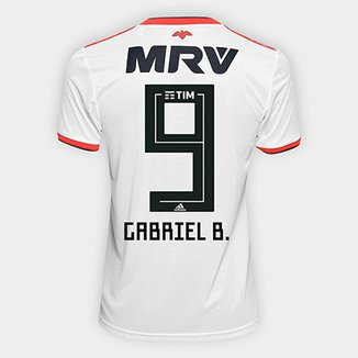 Camisa Flamengo II 2018 N° 9 Gabriel B. - Torcedor Adidas Masculina 40250e7c7a14a