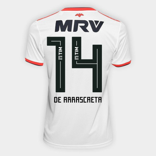 80a87b90f8 Camisa Flamengo II 18 19 n°14 De Arrascaeta - Torcedor Adidas Masculina -