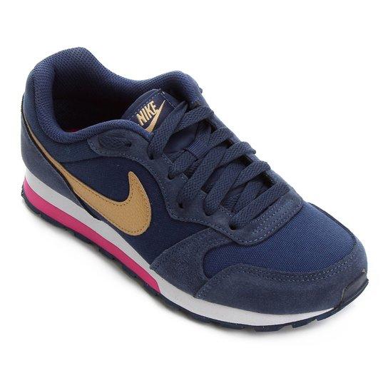 2b9111eb9d3 Tênis Infantil Nike Md Runner 2 - Marinho e Pink - Compre Agora ...