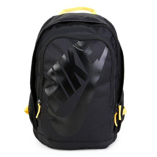 89e98bfbe Mochila Nike Hayward Futura 2.0 - Preto e Amarelo | Netshoes