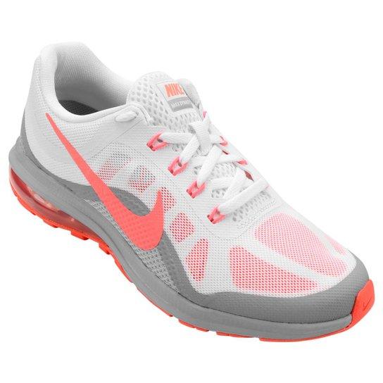 bd720ff5346 Tênis Nike Air Max Dynasty 2 Feminino - Branco e Salmão - Compre ...