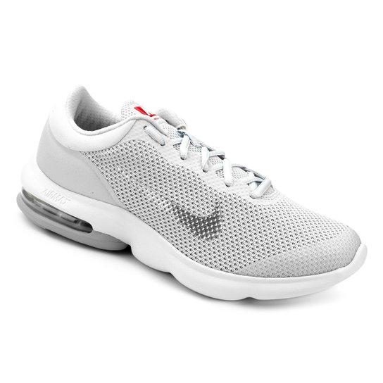 Tênis Nike Air Max Advantage Masculino - Prata e Branco - Compre ... f3e39daa58