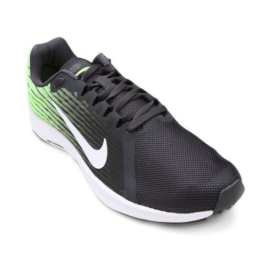 Tênis Nike Downshifter 8 Masculino - Preto e verde - Compre Agora ... 2b3eb76e2a2