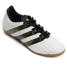Kit Chuteira Adidas Messi 15.3 IN Futsal + Caneleira Adidas Ace ... 0b22577237bdf