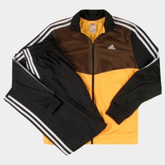 Agasalho Adidas Yb Ts Kn Trn Oh Infantil - Compre Agora  5e82f621db72a