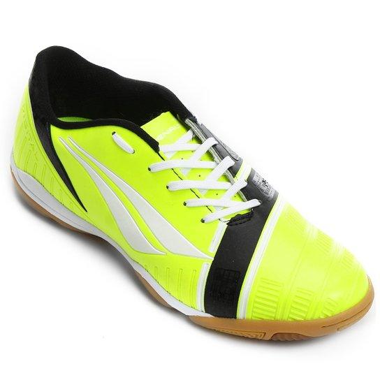 6c1a2ce347bff Chuteira Futsal Penalty Digital 6 - Edição Limitada Masculina - Amarelo  Fluorescente+Preto ...