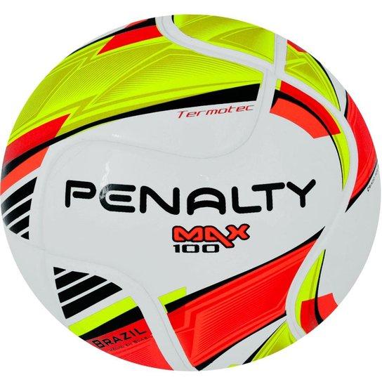 Bola Futsal Penalty Max 100 - Branco+Amarelo d6ea6ad27275c