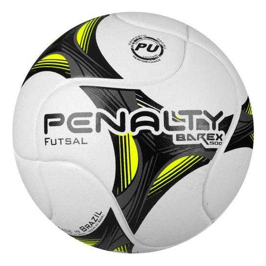 Bola Futsal Penalty Barex 500 Termotec VII - Branco+Amarelo 17e5695275819