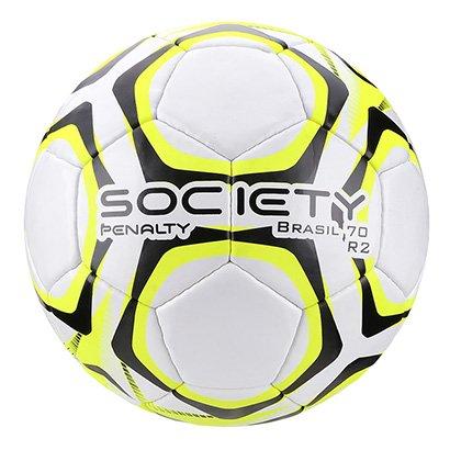Bola de Futebol Society Penalty Brasil 70 R2 LX