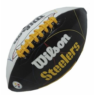 Bola Futebol Americano Wilson Nfl Steelers Pittsburgh 91aca8617bdb1
