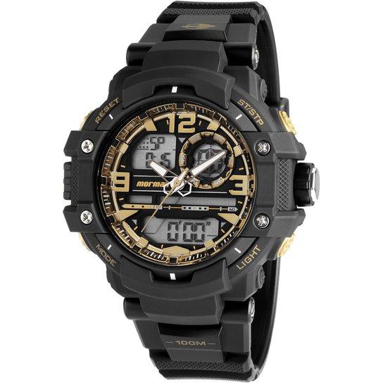 Relógio Mormaii MO09498C - Preto e Amarelo - Compre Agora   Netshoes 7d63f62810
