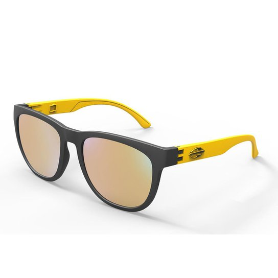 b7ea490954106 Oculos Sol Mormaii Santa Cruz - Preto e Amarelo - Compre Agora ...