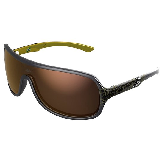 Óculos Sol Mormaii Speranto - 11648396 - Cinza Amarelo - Preto+Amarelo 245fec1bd0