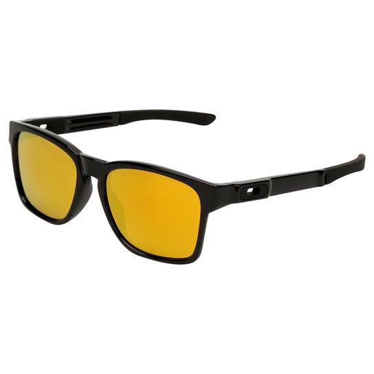 73b3e8d68e80e Óculos Oakley Catalyst-Iridium - Preto e Amarelo - Compre Agora ...
