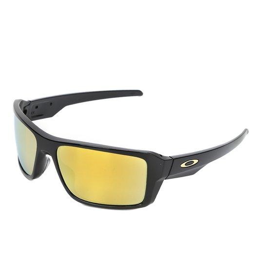 45f92512cf Óculos de Sol Oakley Double Edge Masculino - Preto+Amarelo