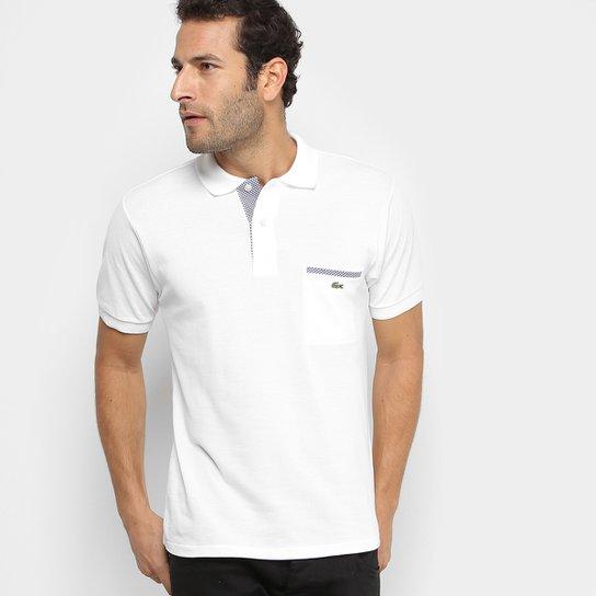 Camisa Polo Lacoste Original Fit Bolso - Compre Agora  0eff57e0c6836