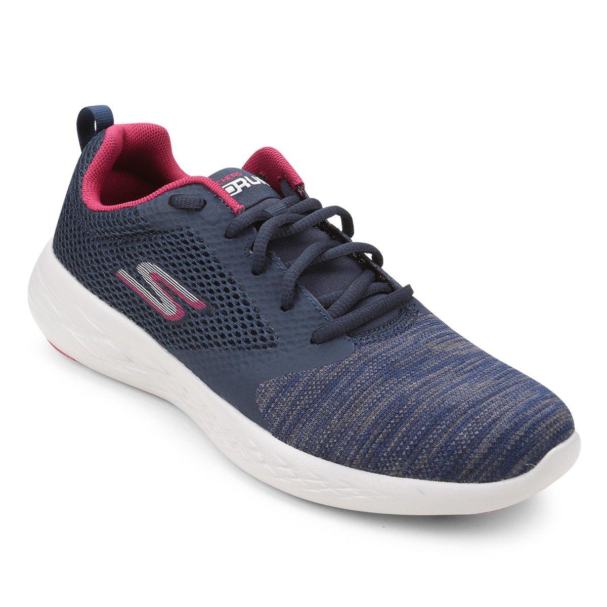a5cc406488c54 FornecedorNetshoes. Tênis Skechers Go Run 600 Reactor Feminino