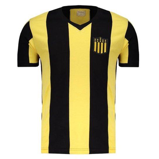 Camisa Peñarol Retrô 1961 Masculina - Preto e Amarelo - Compre Agora ... 7bafc23e19