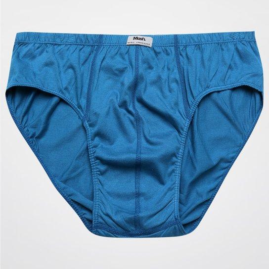 37f3961f26a Cueca Mash Slip - Azul Petróleo - Compre Agora