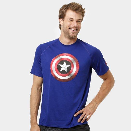 08fb653797091 Camiseta Under Armour Captain America 2.0 Masculina - Compre Agora ...