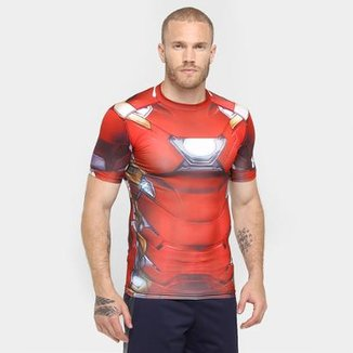 Camiseta Under Armour Iron Man Suit Masculina afdd6878771