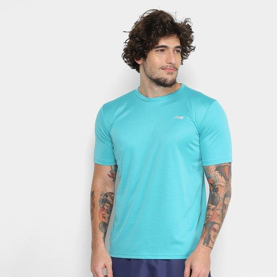Camiseta Avia Bummer Masculina - Azul Piscina - Compre Agora  282a105650de9