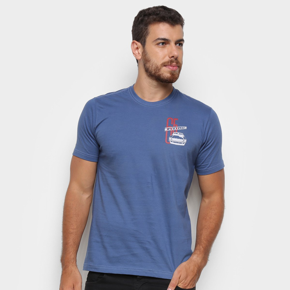 Camiseta Ford 65 Mustang Masculina