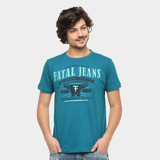 61374d1d10 Camiseta Fatal Gola Careca F Jeans Masculina - Compre Agora