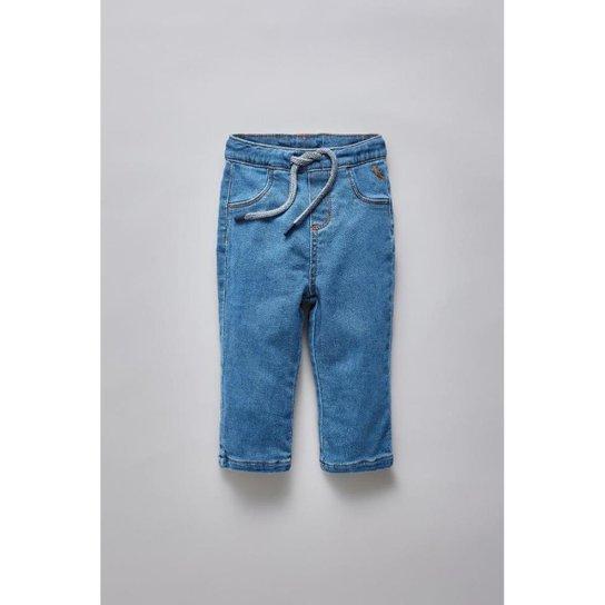 e05f30436c Calça Masculina Infantil Bb Jeans Bolso Basico Reserva Mini - Azul Petróleo