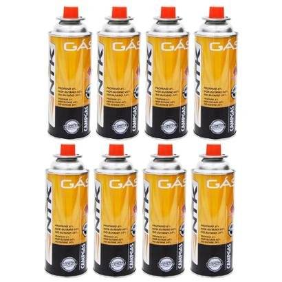 8 Cartuchos de Gás Nautika Campgás 227 gramas - Unissex