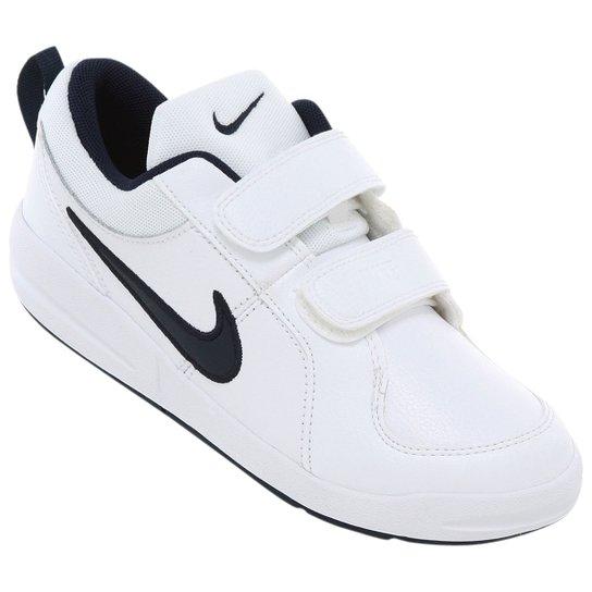 147c3313d33 Tênis Nike Pico 4 Infantil - Branco+Marinho