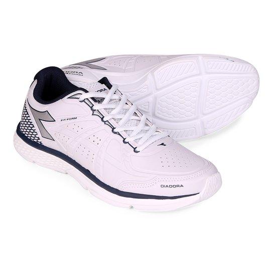 31209d09c5 Tênis Diadora Fit Form Sl Masculino - Branco+Marinho