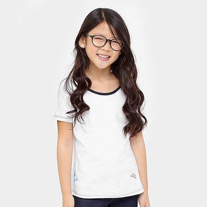 Camiseta Disney Bela Botons Infantil