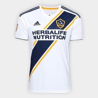 2fc4a4a7a3 Camisa Los Angeles Galaxy Home 19 20 s n° - Torcedor Adidas Masculina