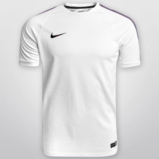 a4d2bf38c4 Camisa Nike Select Flash Traning 2 - Branco+Marinho