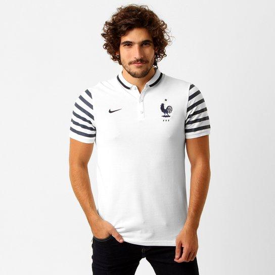 Camisa Polo Nike Seleção França League Authentic - Compre Agora ... 237a36bc0e