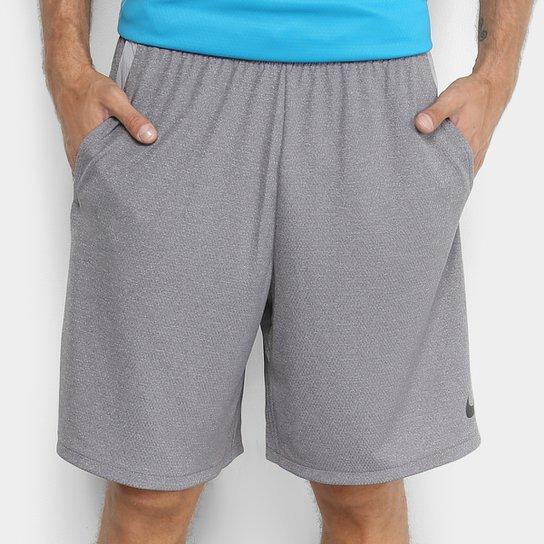 Bermuda Nike Dry 4.0 Masculina - Grafite e Preto - Compre Agora ... 191aa6da5c784
