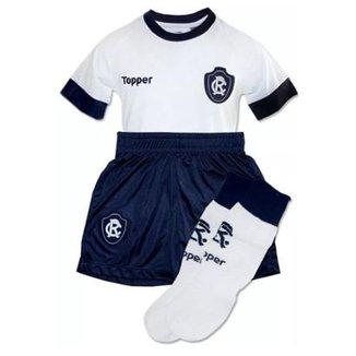 Kit Topper Remo II Camisa + Short + Meião Infantil 5f4e05add77e3
