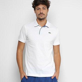 ce5a694e5436c Camisa Polo Lacoste Básica Masculina