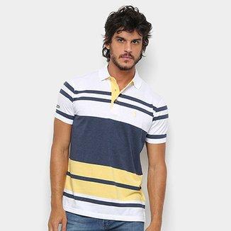 Camisa Polo Aleatory Fio Tinto Listrada Masculina 4f2a113209a19