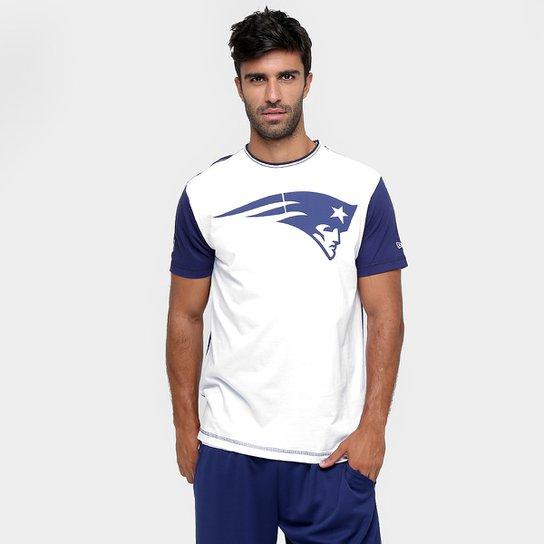 Camiseta New Era NFL Bicolor New England Patriots - Compre Agora ... 2052ab7e639