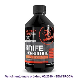 L-Carnitina Knife Military Trail 245mL