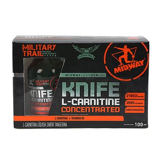 L-Carnitina Concentrada Sublingual Military Trail 100mL